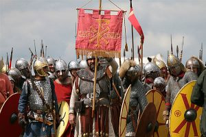5th Century troops