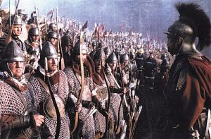 On the set of `Gladiator'