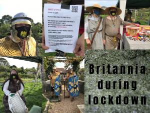 Britannia duringa lockdown